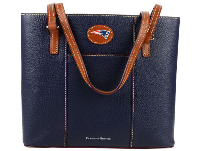 New England Patriots Dooney & Bourke Pebble Small Lexington Tote