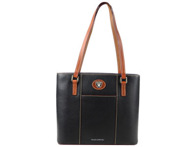 Oakland Raiders Dooney & Bourke Pebble Small Lexington Tote