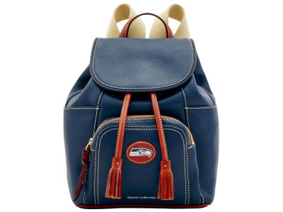 Seattle Seahawks Dooney & Bourke Pebble Medium Backpack
