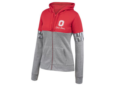 Ohio State Buckeyes NCAA Women's Handspring Full Zip Hooded Sweatshirt