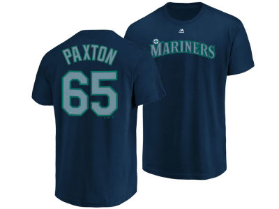 Seattle Mariners James Paxton Majestic MLB Men's Official Player T-Shirt