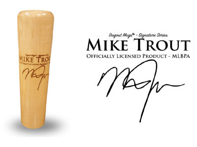 Mike Trout Dugout Mugs Signature Series Mug