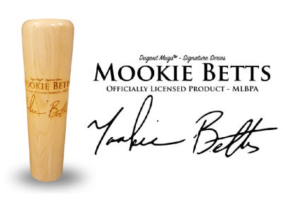 Mookie Betts Dugout Mugs Signature Series Mug