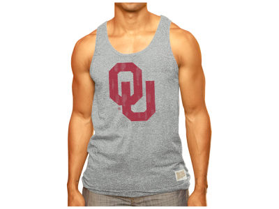 Oklahoma Sooners Retro Brand NCAA Men's Big Logo Tank
