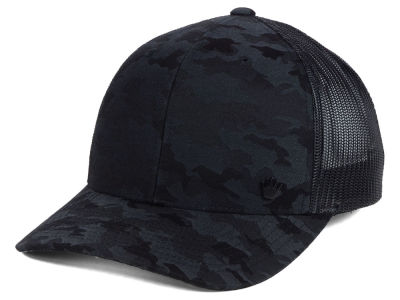 No Bad Ideas Faried Camo Meshback Cap