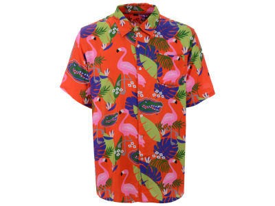 Florida Gators NCAA Men's Floral Button Up Shirt