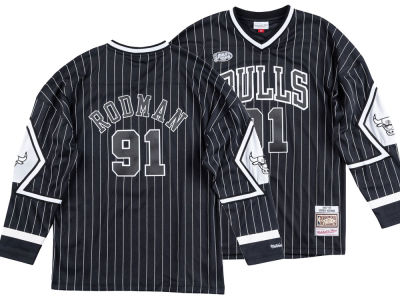 Chicago Bulls Dennis Rodman Mitchell & Ness NBA Men's Concord Collection Jersey