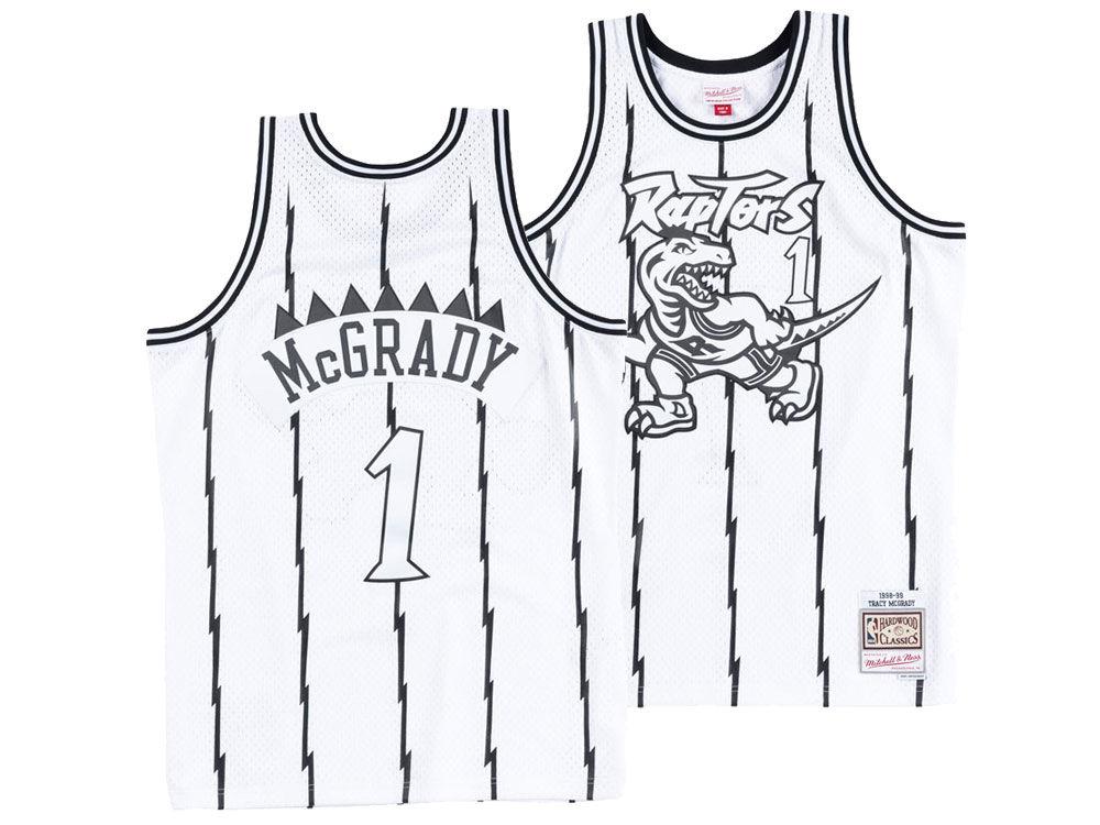 Toronto Raptors Tracy McGrady Mitchell   Ness NBA Men s Concord Collection  Swingman Jersey  18816a233