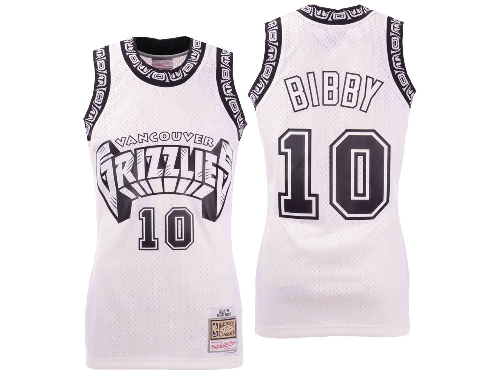 347221175 Vancouver Grizzlies Mike Bibby Mitchell   Ness NBA Men s Concord Collection  Swingman Jersey