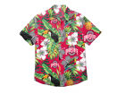 Ohio State Buckeyes Forever Collectibles NCAA Men's Floral Button Up Shirt Button Up Shirts