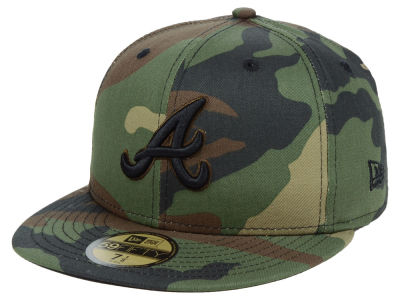 Atlanta Braves New Era MLB Fall Prism Pack 59FIFTY Cap