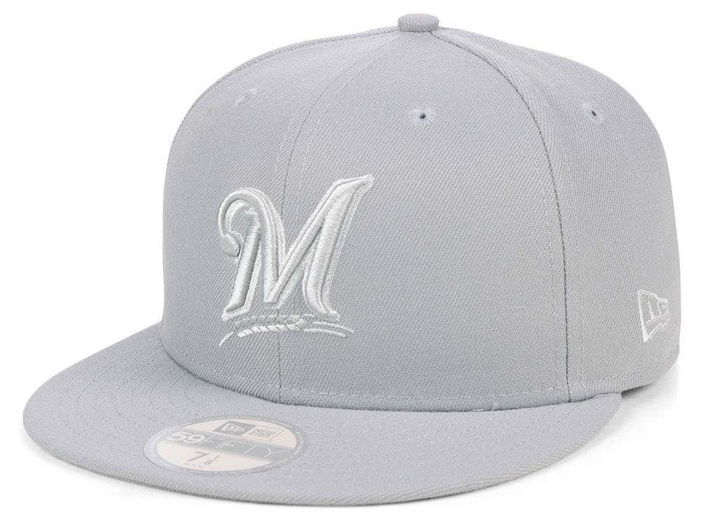 low priced f365f 4bdaf ... discount code for milwaukee brewers new era mlb fall prism pack 59fifty  cap 88543 aa74c