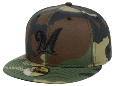 Milwaukee Brewers New Era MLB Fall Prism Pack 59FIFTY Cap