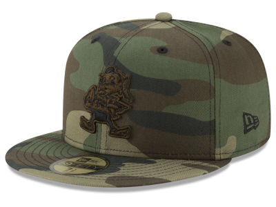 Cleveland Browns New Era NFL Woodland Prism Pack 59FIFTY Cap