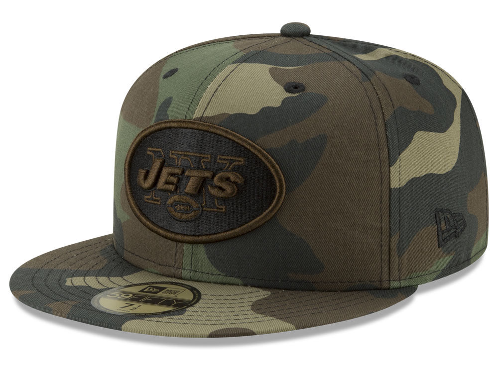 New York Jets New Era NFL Woodland Prism Pack 59FIFTY Cap  c749279c7ccb6