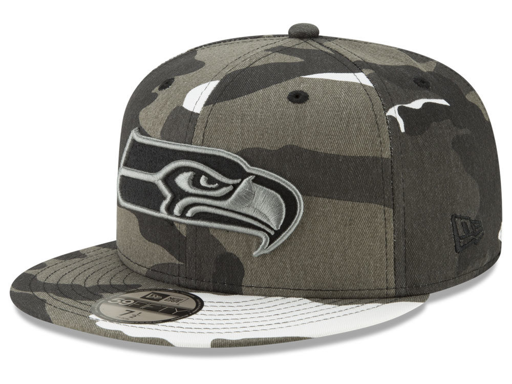 7bdb3e42c Seattle Seahawks New Era NFL Urban Prism Pack 59FIFTY Cap