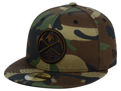 Denver Nuggets New Era NBA Fall Prism Pack 59FIFTY Cap
