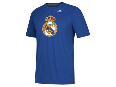 Real Madrid Men's International Club Team Tiled T-Shirt
