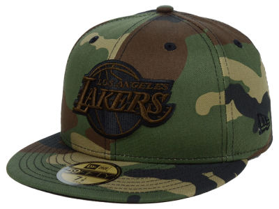 Los Angeles Lakers New Era NBA Fall Prism Pack 59FIFTY Cap