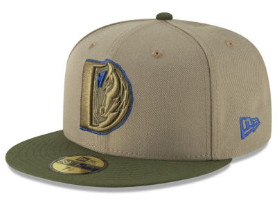 Dallas Mavericks New Era NBA Fall 2 Tone Combo 59FIFTY Cap