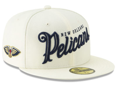 New Orleans Pelicans New Era NBA Jersey Script 59FIFTY Cap