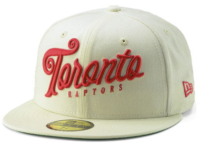 Toronto Raptors New Era NBA Jersey Script 59FIFTY Cap