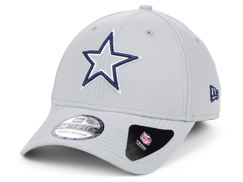 1c378353b Dallas Cowboys New Era NFL Logo Elements Collection 39THIRTY Cap ...