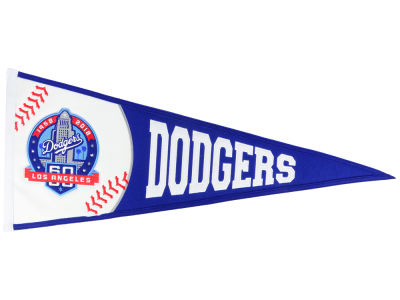 Los Angeles Dodgers Winning Streak 60th Anniversary Traditions Pennant
