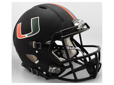 Miami Hurricanes Riddell Speed Authentic Helmet