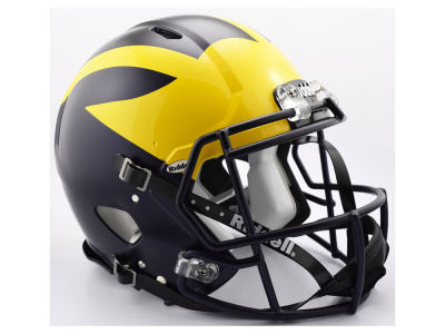Michigan Wolverines Riddell Speed Authentic Helmet