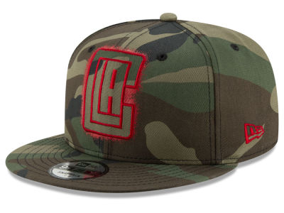 Los Angeles Clippers New Era NBA Overspray 9FIFTY Snapback Cap