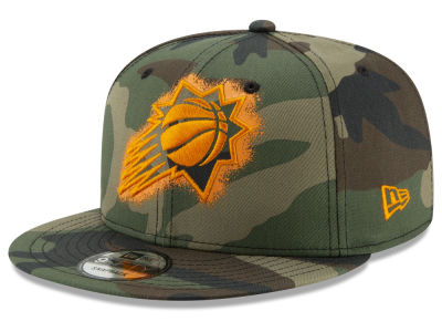 Phoenix Suns New Era NBA Overspray 9FIFTY Snapback Cap