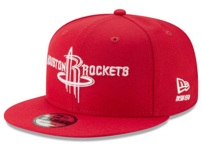 Houston Rockets New Era NBA Logo Trace 9FIFTY Snapback Cap