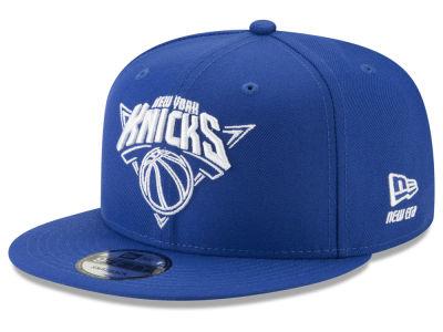 c07455a9170f2 New York Knicks New Era NBA Logo Trace 9FIFTY Snapback Cap