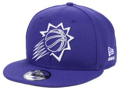 online retailer 8228e 66416 Phoenix Suns New Era NBA Logo Trace 9FIFTY Snapback Cap