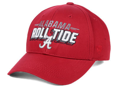 Alabama Crimson Tide Top of the World NCAA College Value Adjustable Cap