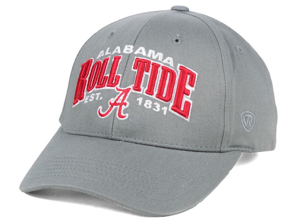 e426e5d0323 Alabama Crimson Tide Top of the World NCAA College Value Adjustable Cap