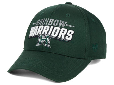 Hawaii Warriors Top of the World NCAA College Value Adjustable Cap