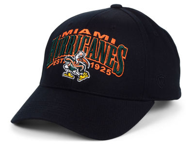 Miami Hurricanes Top of the World NCAA College Value Adjustable Cap