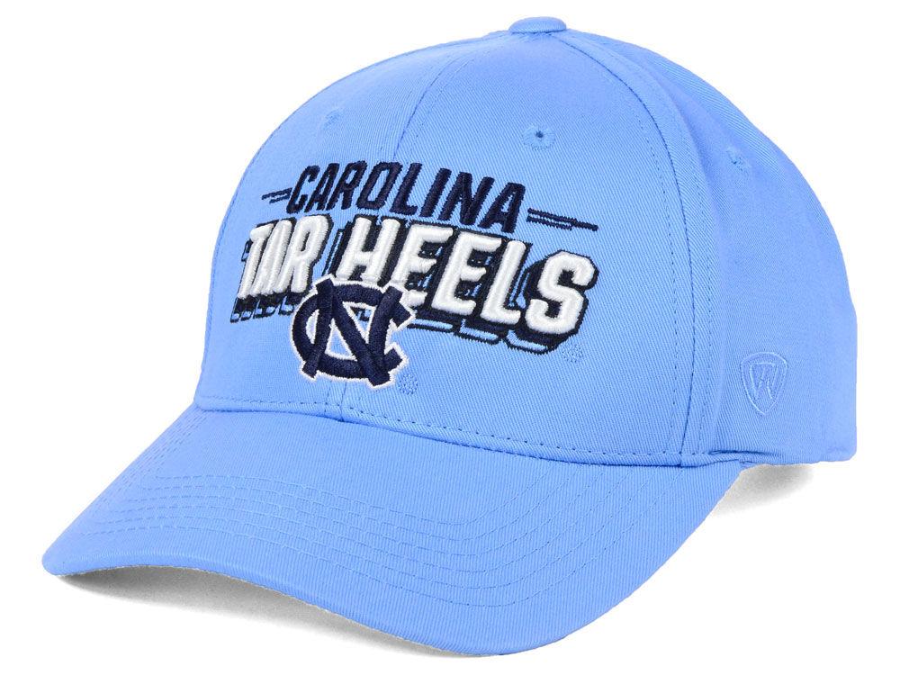 318bf402bea North Carolina Tar Heels Top of the World NCAA College Value Adjustable Cap