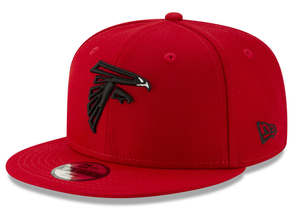 20a4c8c1614 Atlanta Falcons New Era NFL Youth Logo Elements Collection 9FIFTY Snapback  Cap