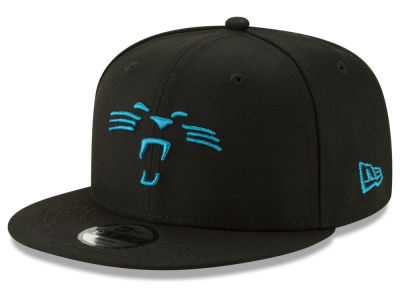 Carolina Panthers New Era NFL Youth Logo Elements Collection 9FIFTY  Snapback Cap 48bc80d42