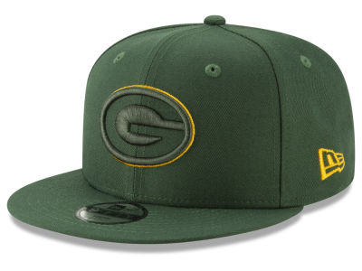 Green Bay Packers New Era NFL Youth Logo Elements Collection 9FIFTY Snapback Cap
