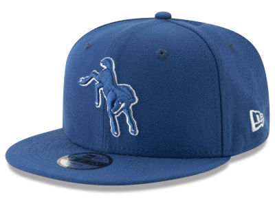 Indianapolis Colts New Era NFL Youth Logo Elements Collection 9FIFTY Snapback Cap