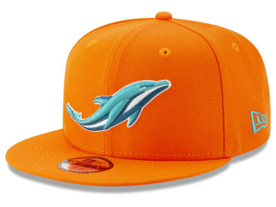 Miami Dolphins New Era NFL Youth Logo Elements Collection 9FIFTY Snapback Cap