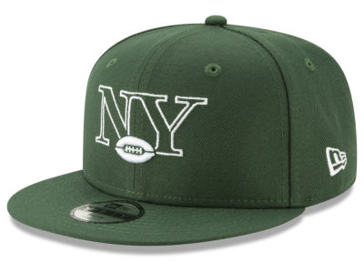 New York Jets New Era NFL Youth Logo Elements Collection 9FIFTY Snapback Cap