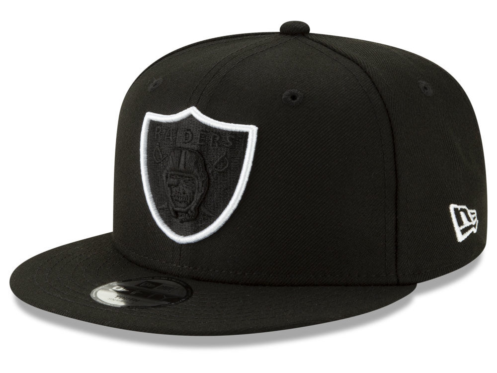c4210dbe827 Oakland Raiders New Era NFL Youth Logo Elements Collection 9FIFTY Snapback  Cap