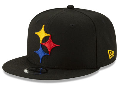 c5f932b85 Pittsburgh Steelers New Era NFL Youth Logo Elements Collection 9FIFTY  Snapback Cap