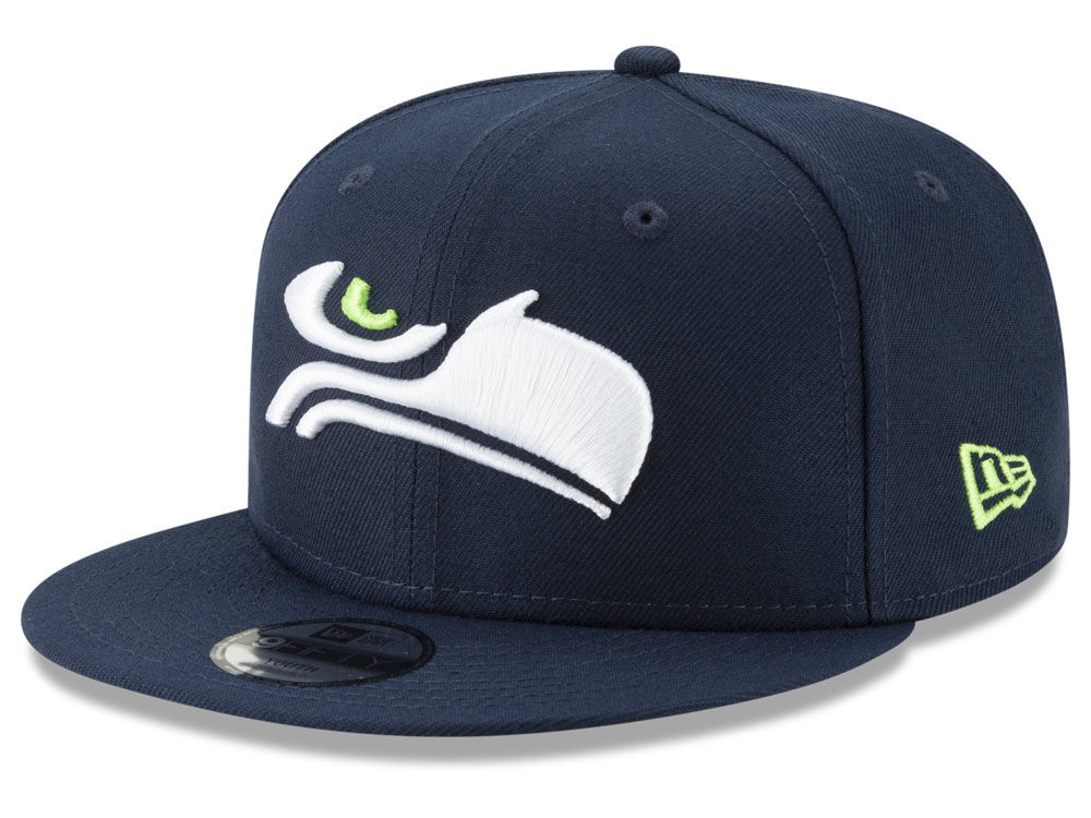 f23df18be7c Seattle Seahawks New Era NFL Youth Logo Elements Collection 9FIFTY Snapback  Cap