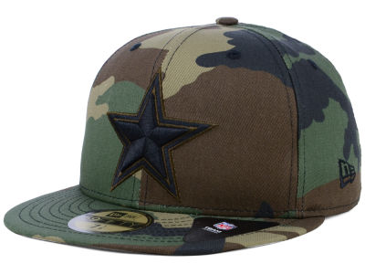 Dallas Cowboys New Era NFL Woodland Prism Pack 59FIFTY Cap